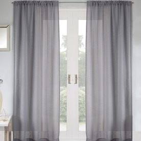 grey curtains for bedroom. Jewel Ready Made Rod Pocket Voile Panel Grey Bedroom Curtains  Great Value Window Terrys Fabrics