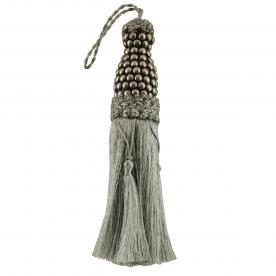 Metallic Key Tassel