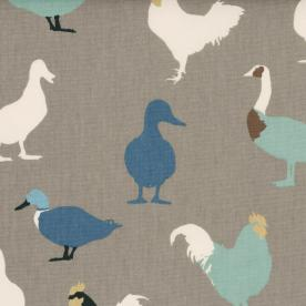 Cock-A-Leekie Curtain Fabric