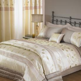 Glimmer Embroidered Duvet Cover