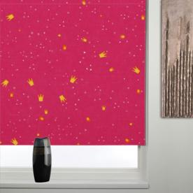 Thermal Patterned Blackout Roller Blind