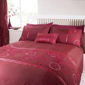 Keisha Embroidered Duvet Cover