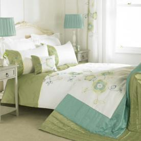Mirage Embroidered Duvet Cover