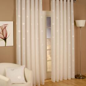 Miami Eyelet Voile Curtains