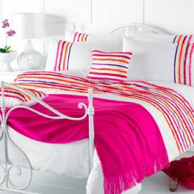 Ruffles Embroidered Duvet Cover