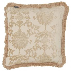 Hanover Beige Filled Cushion (18x18)